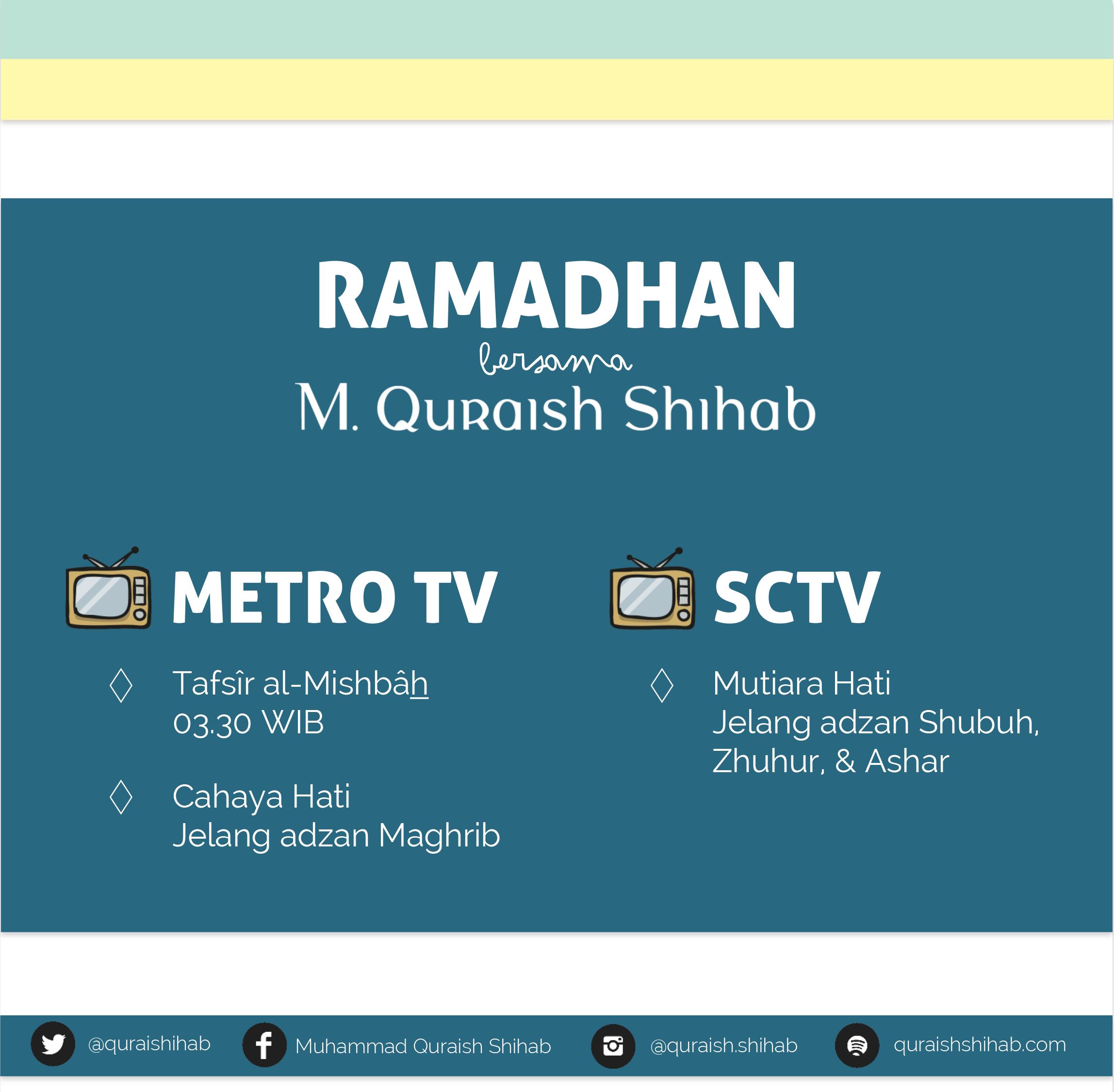 Muhammad Quraish Shihab Official Website