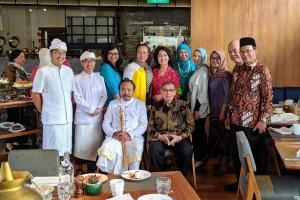 Acara Forum Titik Temu juga dihadiri oleh para pemuka dari berbagai agama